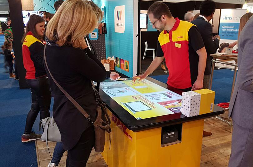DHL Touchscreen Tische - Prestop Touch Table