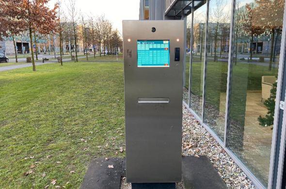 Touchscreens at High Tech Camapus Eindhoven