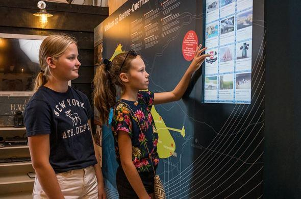 Touchscreens for tourist information point