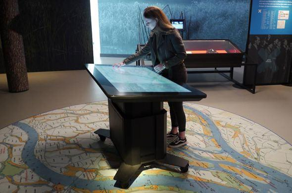 Biesbosch Museum uses touch table with Omnitapps4